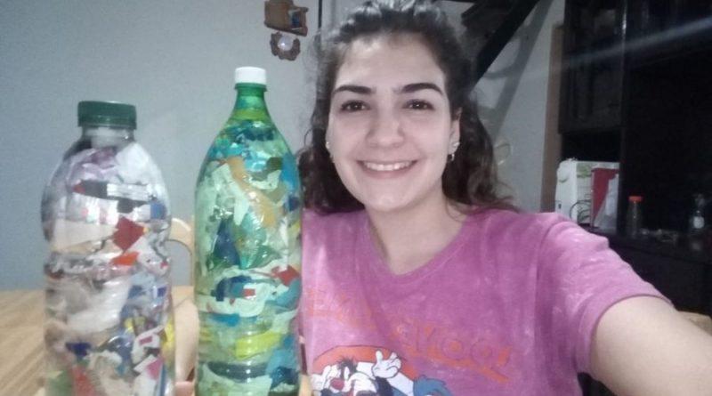 """""""Ecología Los Antiguos"""": Un emprendimiento que da fin sustentable a las botellas de amor"""
