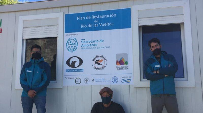 Ambiente suma equipamiento para el Programa de Conservación del Río de las Vueltas